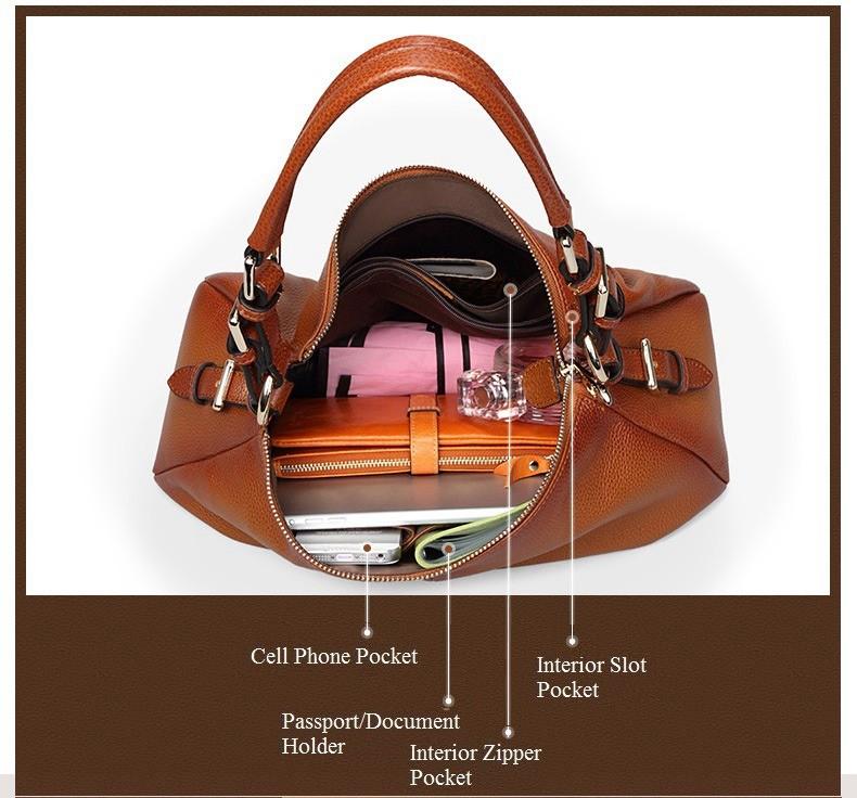 Ladies Handbags 2016 New Womens Bags And Purses Solid Women Leather Shell Bag Bags Zipper Retro Designer Handbags High Quality_048
