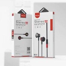 Wired handsfree Steoro bass in-ear earphones with mic sport Headset 3.5mm for iphone 7 Xiaomi Samsung Huawei earphone ONESAM E11