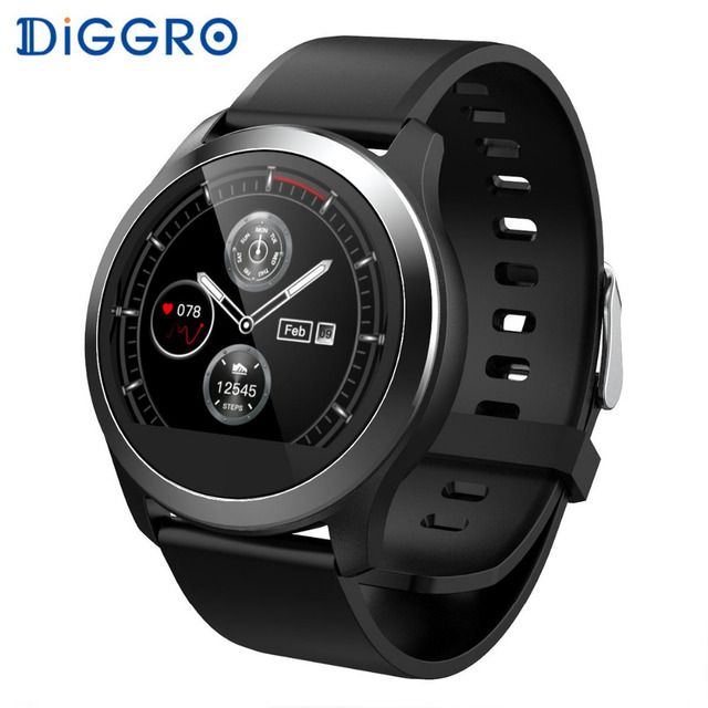 Diggro Z03 Smart Watch ECG PCG Heart Rate Monitor Blood Pressure Fitness Tracker IP68 Waterproof Smartwatch Man For IOS Android