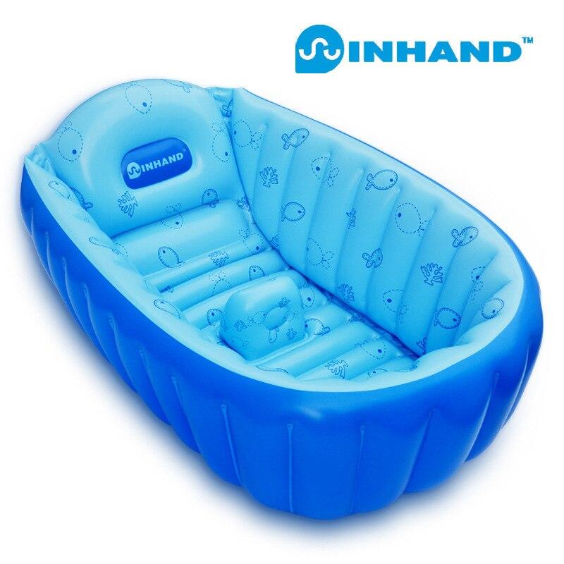 Brand Thick Baby Spa PVC Folding Portable Bathtub Inflatable Bath ...
