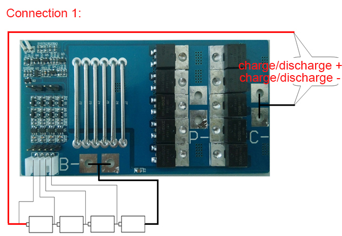 4s Bms Wiring Diagram Cdl Pre Trip Inspection 50a 12 8v Lifepo4 Pcm Pcb Battery Protection Circuit Board For 4 Packs 18650 Cell W Balance In Chargers From Consumer Electronics On