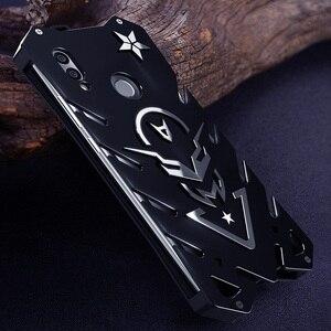 Image 4 - Винтовой чехол для Honor 10 lite мощный ударопрочный чехол для Honor 8x 8x max Zimon чехол для Honor 8c сверхмощный фиолетовый