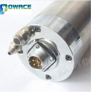 Image 3 - [EU Delivery] 2.2KW Water Cooled Spindle Motor&2.2KW Inverter&80mm Fixture&Water pump&Pipe&Collet for CNC Router Miliing