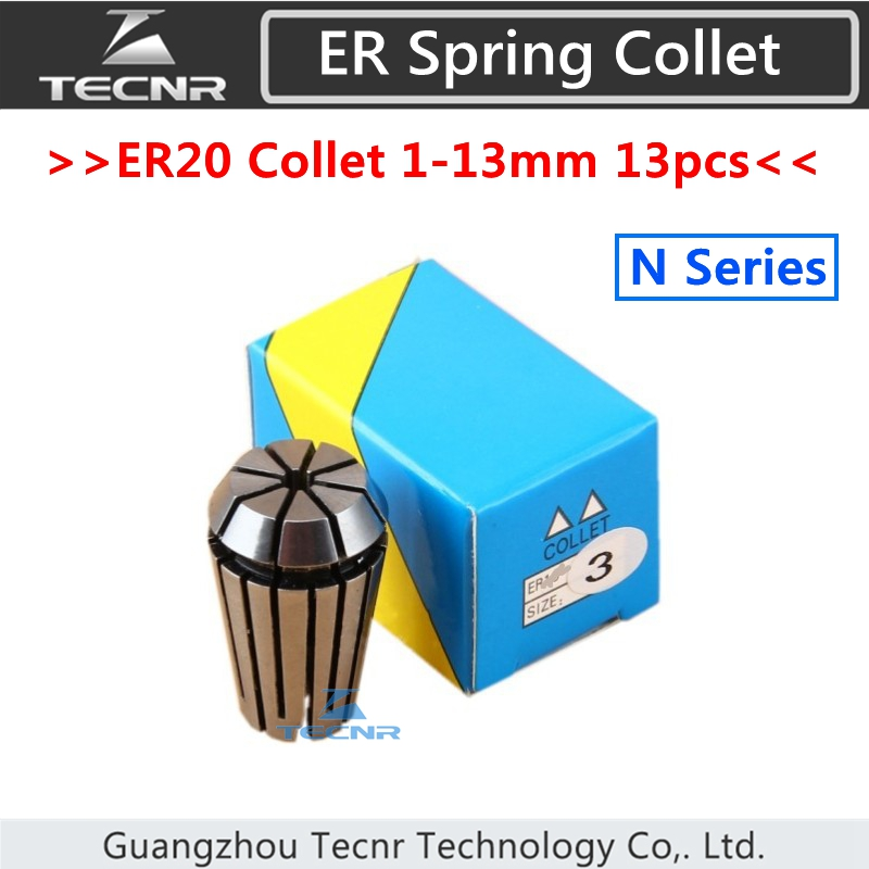 ER20 collet holder set from 1 mm to 13 mm for CNC milling lathe tool and spindle motor bt30 er16 60 tool holder for cnc router spindle motor and milling lathe tool boring end mill
