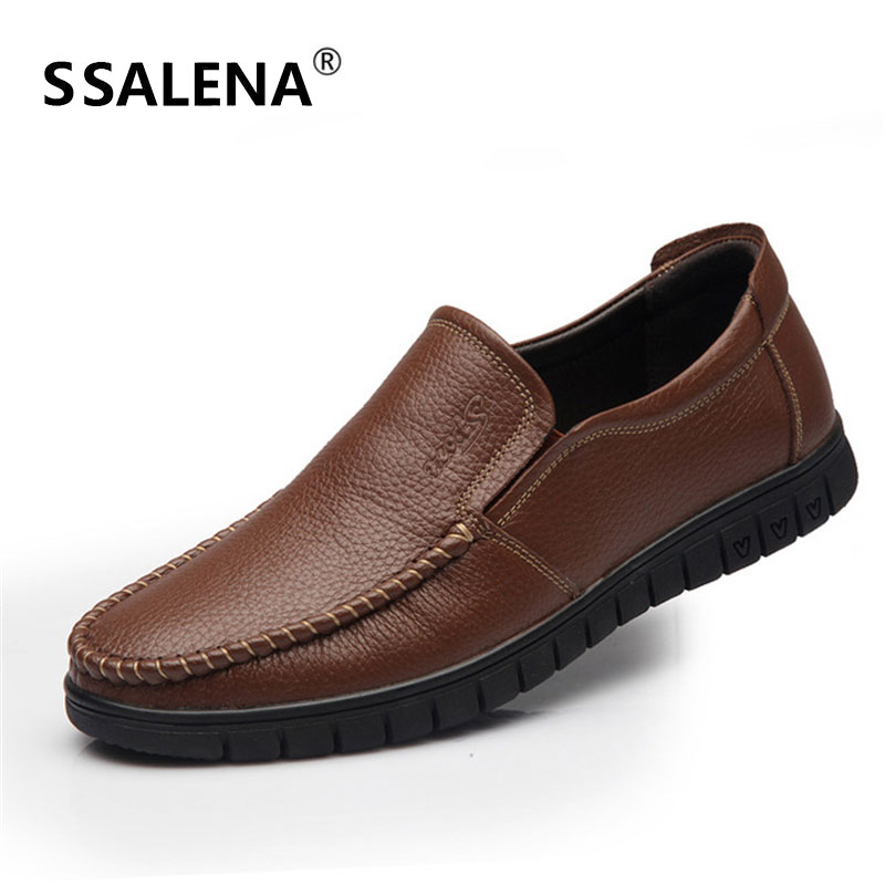 Men Soft Sole Smart Casual Flat Shoes Male Slip On Italian Driving Shoes  Mens Breathable Non-Slip Moccasins Shoes AA11614 61fcfa9ef3c