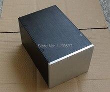 Full Aluminum Power Supply Cabinet Power Amplifier Case Multipurpose Full Aluminum Case Chassis 1Piece