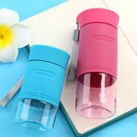 UZSPACE Small Sports Water Bottles MINI Cute Fashion Tritan Plastic Drinkware Handy bottle My drink bottle 200/300ml BPA Free