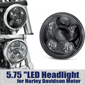 "5 3/4""  5.75 Inch LED Projection Daymaker Headlight - Generation III for Triumph / Honda / Harley"