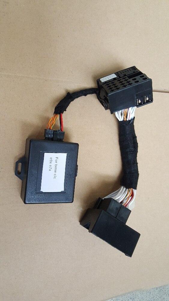 DATE Pour Plug And play Exx BMW E60 E90 E87 CIC rénovation navigation voix adaptateur émulateur