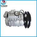 Автомобильный Компрессор a/c для KOMATSU PC200-7 PC220-7 DENSO 10S17C 24В 1B PC300-7 20Y8101260 20Y-979-6121