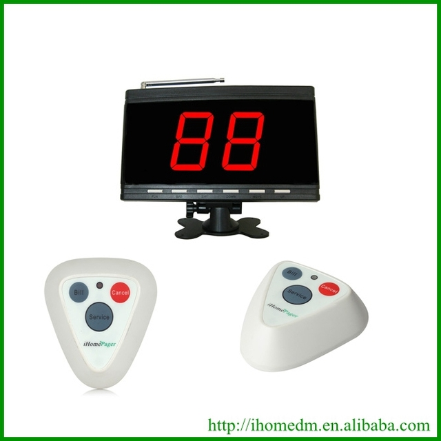 Wireless calling system server paging system 1display 30buttons