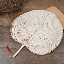 Hand-woven Baby Mosquito Repellent Fan Summer Manual Straw Hand Fans Palm Leaf
