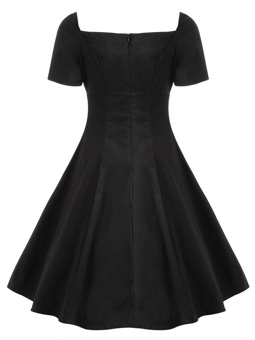 FLASH DEAL) S-4XL Plus Size Dress 2019 Summer Women Vintage ...