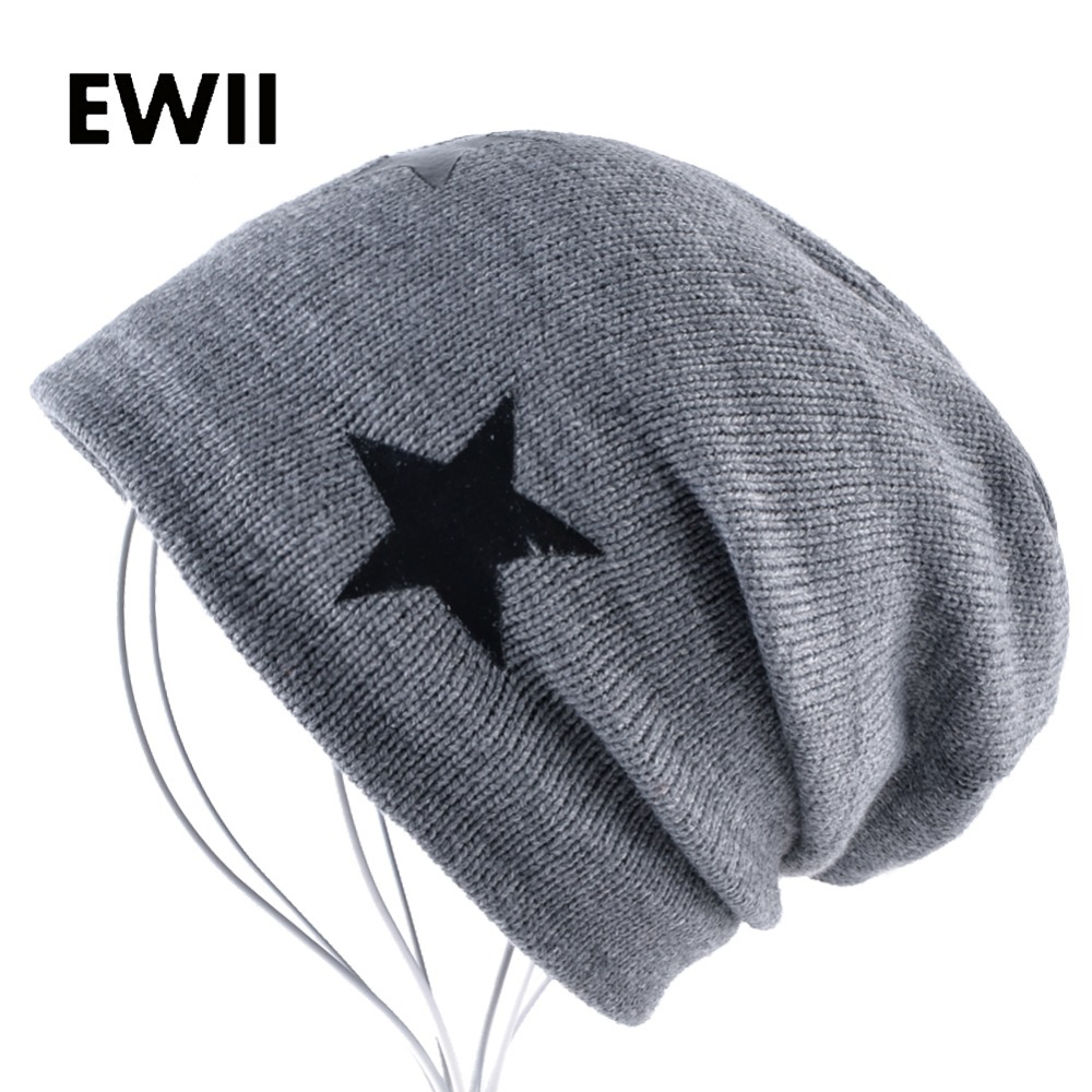 2017 Crochet beanie hats for men winter wool hat gorro women beanies knitted caps men star warm cap bonnet homme skullies men s skullies winter gorros ski wool warm knitted cap beanie headgear hat nap skullies bonnet beanies cap hats for women gorro
