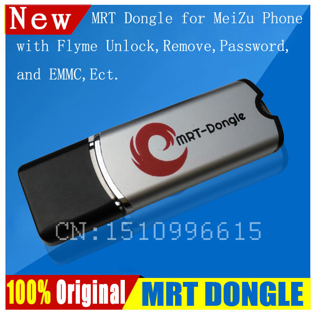 100 Original MRT DONGLE MRT Dongle for Meizu Flyme account unlock password removal and EMMC Fully