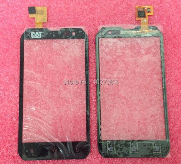 Touch Screen digitizer For Caterpillar CAT B15 or B15Q Black free shipping touch screen digitizer for caterpillar cat b15 or b15q black free shipping