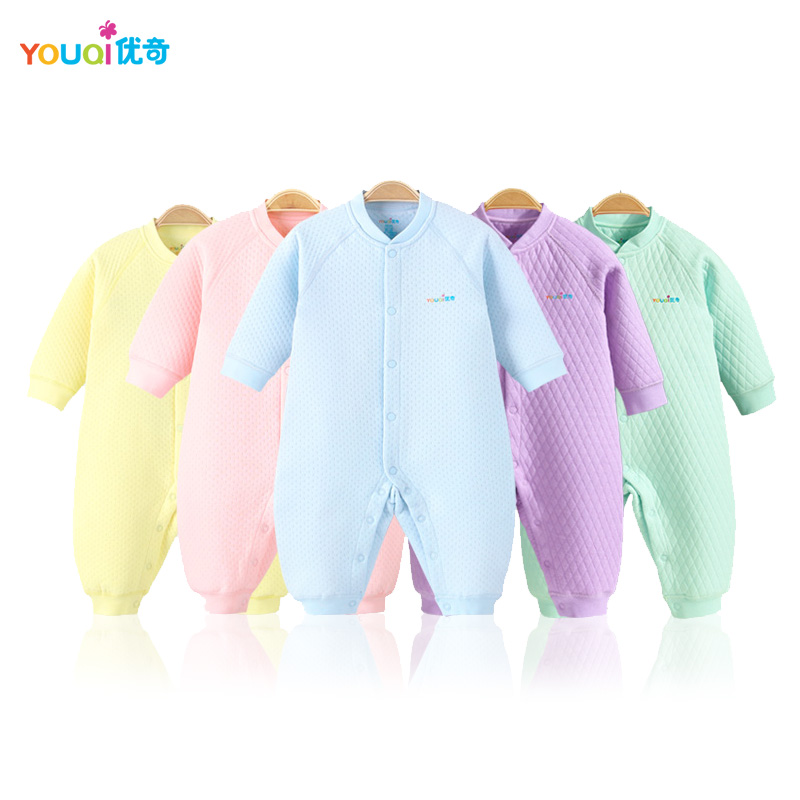 YOUQI Winter Unisex Baby Clothes Warm Boys Rompers 3 6 9 18 Months Toddler Girls Infant Jumpsuit Spring Clothes Outwear Clothing