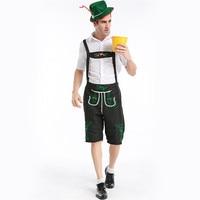 Cosplay Oktoberfest Costume Lederhosen Bavarian Octoberfest German Festival Beer Halloween for Men Beer Costumes purim costume