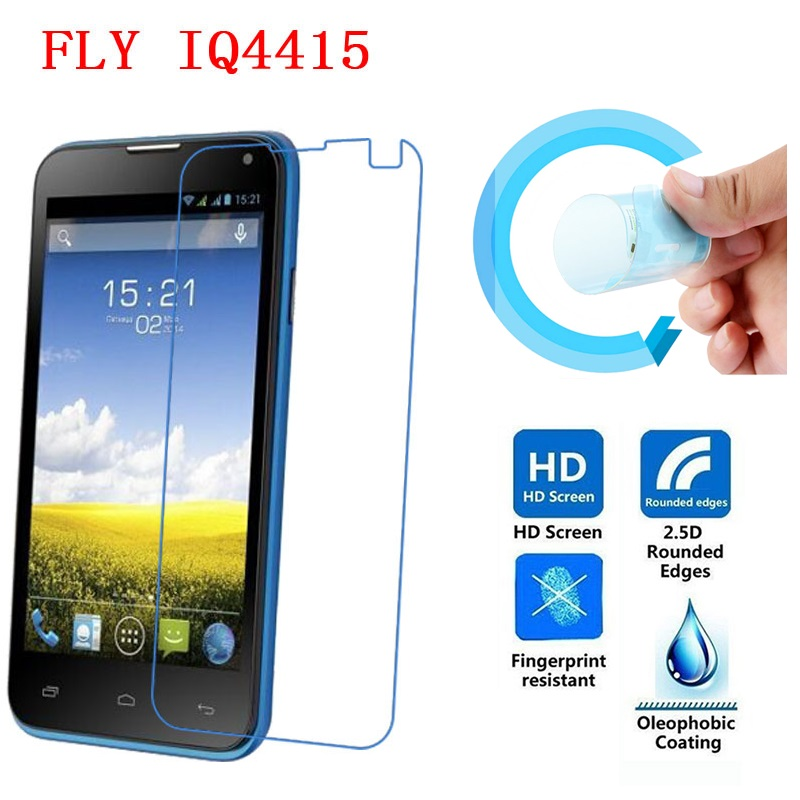 Fly IQ4415 Screen Protective Film, Ultra-Thin HD Clear Soft Pet Screen Protector Film for Fly IQ4415 ERA Style 3