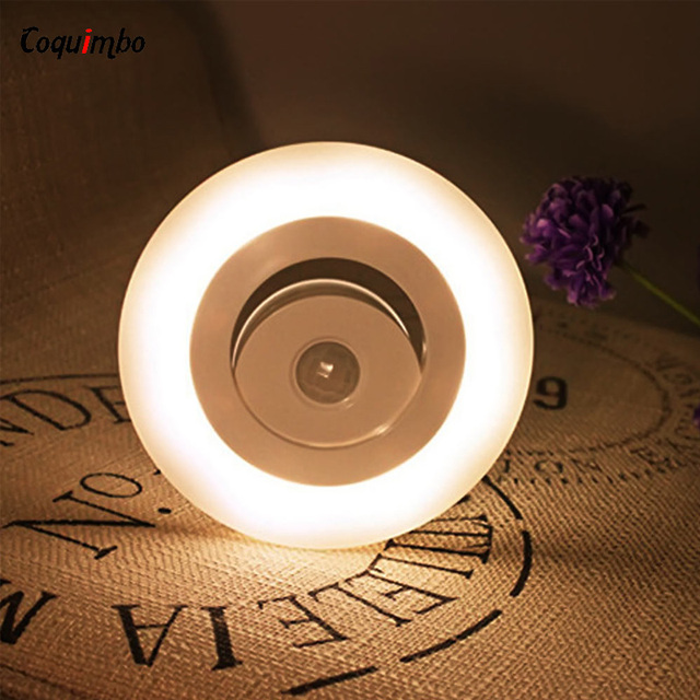 Sensor Body LED Night Light Wall Light Cabinet Light Indoor LED Lamp Motion  Lamp Movable Wall