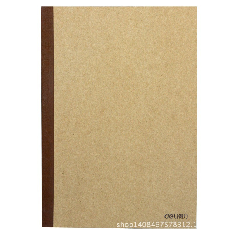 Handsome Stationery 7674 Wireless Coat Paper Notebook 60 Pages Soft Face Notepad A5 Practice Book