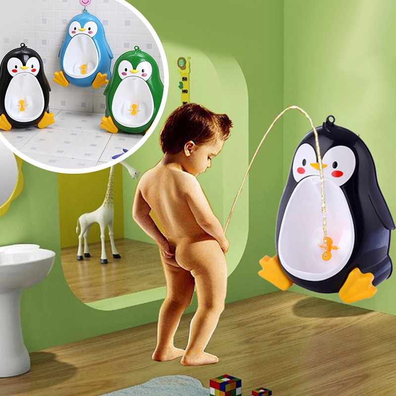 Children Baby Boy Stand Vertical Urinals Potty Pee Toilet Wall-Mounted Urinal