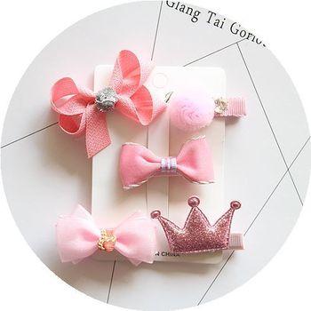 65 Models bowknot baby girls kids hair clips pin bows headwear hairpin accessories for children hair barrette hairclip headdress