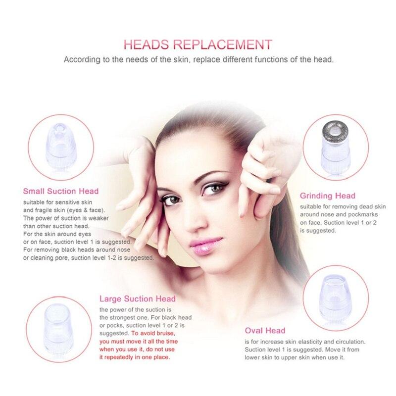 6 Këshillë Kujdesi për fytyrën Pajisja e bukurisë Diamanti i - Mjet për kujdesin e lëkurës - Foto 5