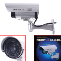Realistic Looking Fake Camera Wireless Security CCTV Bullet Fake Camera Wifi Outdoor Waterproof Flash IR LED