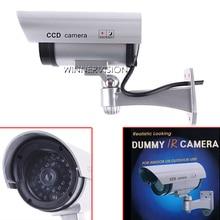 Realistic Looking Fake Camera wireless Security CCTV Bullet fake Camera wifi Outdoor Waterproof Flash IR LED Light