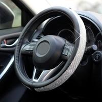 Steering Wheel Cover or D ring Auto Sparkly Diamond Decoration Women Girl Gift For Mercedes Toyota Honda Audi Opel Mazda KIA