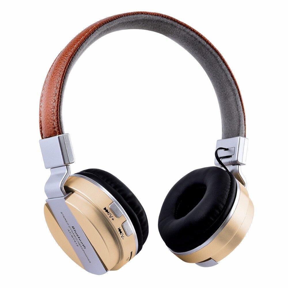 New Headset Wireless Smart Phone Stereo Music For: Desxz 2018 New Wireless Headphones Bluetooth 4.2 Headsets