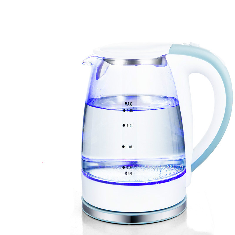 Electric kettle The transparent glass electric is automatically broken by large capacity майка print bar the internet is broken