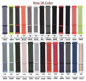 Image 2 - New20mm Nylon Vòng Dây Quấn cho Xiaomi Huami AMAZFIT BIP BIT Lite Thanh Niên Đồng Hồ Thông Minh Đeo Tay Vòng Tay Amazfit Dây Đeo Đồng Hồ