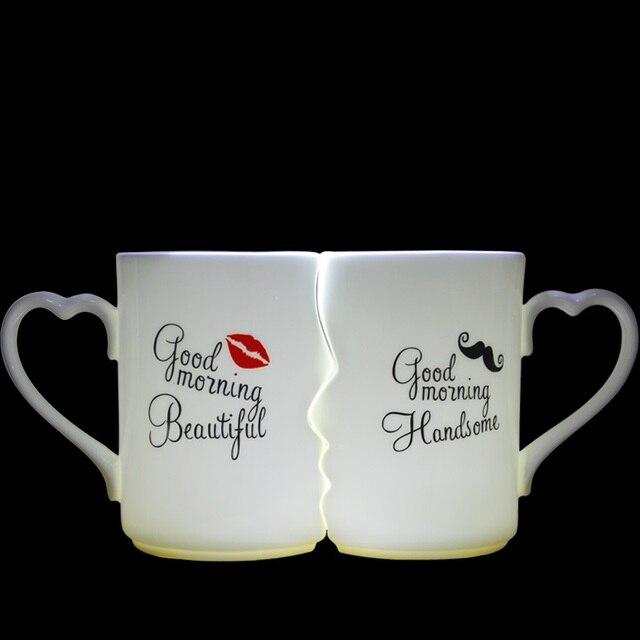 Tasse duo kissing mug, un beau cadeau d'amour 1