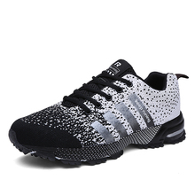 Running Shoes Men Luxury Brand Women Breathable High Quality Colorful Couple Tra