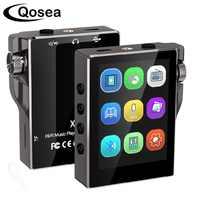 MP3 Player mit Bluetooth 16GB FM Radio HiFi Musik Player Hohe Auflösung Lossless Walkman Audio mit Video E-Book Aufnahme 8GB