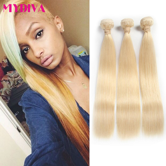 Aliexpress buy 613 blonde virgin hair 3pcs lot 8a malaysian 613 blonde virgin hair 3pcs lot 8a malaysian virgin hair straight human hair weave cheap blonde pmusecretfo Image collections