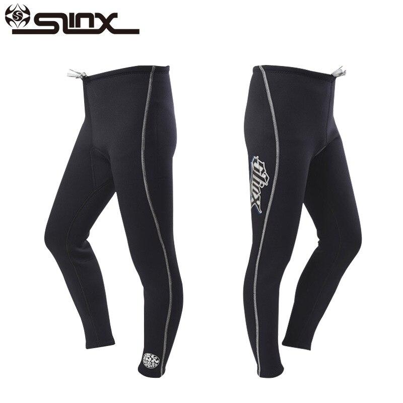 Slinx hommes femmes 3mm néoprène Long pantalon combinaison cerf-volant surf planche à voile maillots de bain bateau plongée sous-marine costume