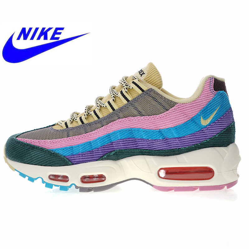 brand new 858a3 43316 Nike Air Max 95 OG Men s and Women s Running Shoes,Breathable Non-slip High  Quality Outdoor Sports Shoes AJ4219 600