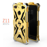 SIMON ZTE Nubia Z11 Mini S Case Metal Armor THOR IRONMAN Aluminum Shockproof Cover Protective Shell