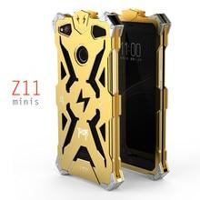Simon caso zte nubia z11 mini s thor ironman armadura de metal de aluminio a prueba de golpes cubierta del teléfono cubierta protectora shell minis z11