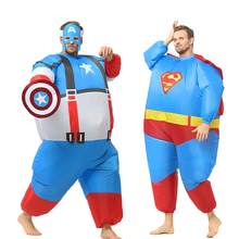 American movie hero cosplay inflatable costume Funny-making inflated for adults animal of dinosaur cos
