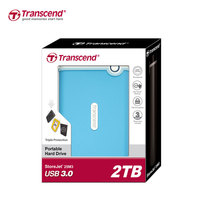 Transcend 2TB StoreJet M3 Military Drop Tested USB 3 0 External Hard Drive High Speed 2