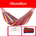 1 pcs Outdoor Leisure bed hanging bed double sleeping canvas swing hammock camping hunting