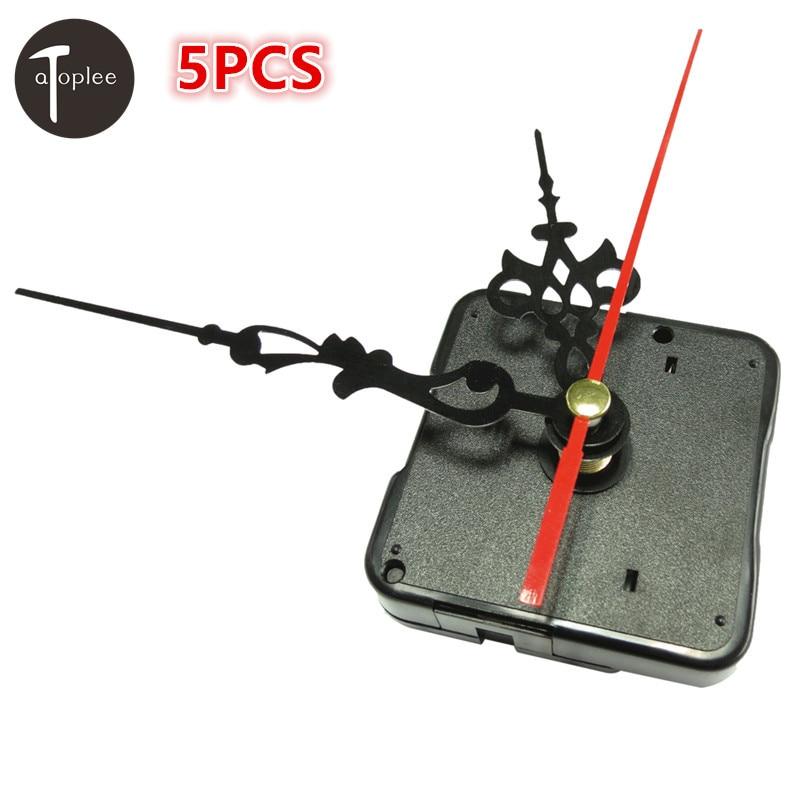 5Pcs Silent Quartz Wall Clock Movement Kit Spindle Mechanism DIY Repair stitches and screw gasket 55*55*15mm бесплатная доставка diy kit tps71550qdckrq1 ic reg ldo 5 в 50ma sc70 5 71550 tps71550 10 шт