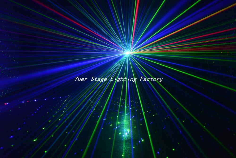 rgb cor Seis Olho DMX512 Feixe de