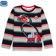 novatx A4238 new striped nova kids wear clothing boys clothes boy's t shirt child shirt boys brand kids t-shirts child wear