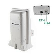 دعم POE yekumm YF P11 في الهواء الطلق 4g CPE راوتر نقطة الوصول جسر LTE 150M مع 8dbi المدمج في الهوائي