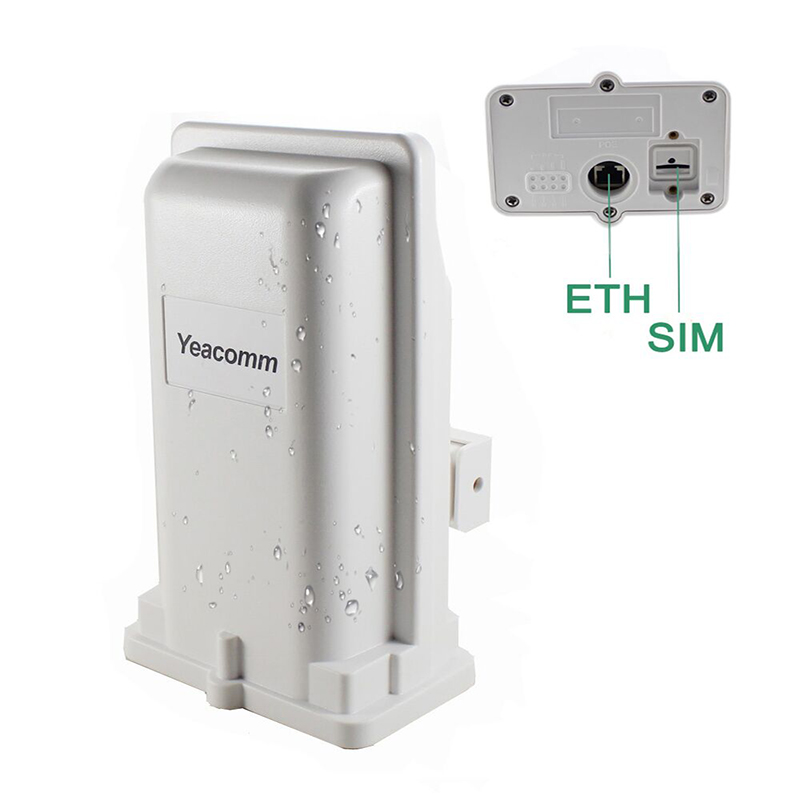 Support POE Yeacomm YF-P11 outdoor 4g CPE router access point bridge LTE 150M with 8dbi built-in antenna